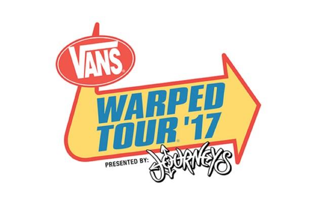Vans warped Tour lineup 2017