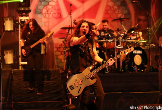 Anthrax at the Wiltern in Los Angeles, CA - photo credit: Alex Kluft