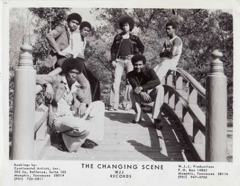 The Changing Scene (1970s Press Photo)