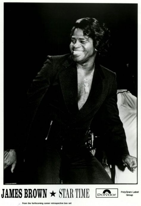 Singer James Brown - Star Time (1991 Press Photo)