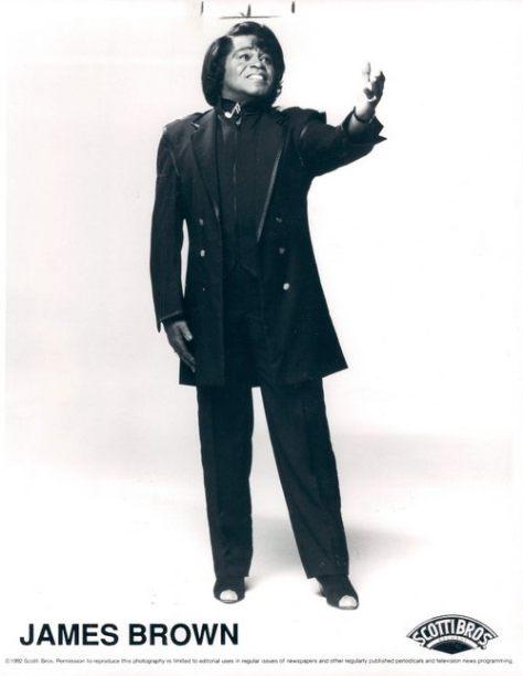 James Brown (1992 Scotti Bros. Publicity Press Photo)