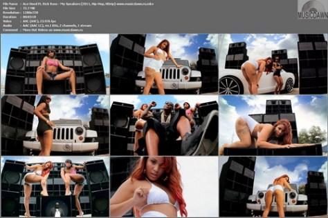 Ace Hood Ft. Rick Ross - My Speakers (2011, Hip-Hop, HD 1080p)