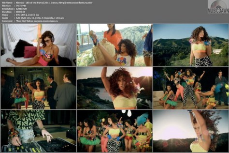 Aleesia - Life of the Party (2011, Dance, HDrip)