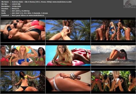 Andreea Balan - Like A Bunny (2011, House, HD 1080p)