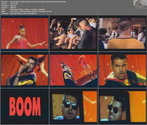 Apache Indian - Boom Shack-A-Lack (1995, Ragga, DVD-VOB)