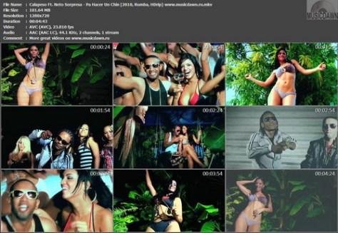 Calapeso Ft. Neto Sorpresa - Pa Hacer Un Chin (2010, Rumba, HDrip)