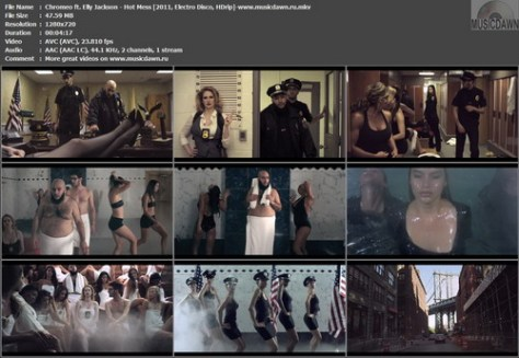 Chromeo ft. Elly Jackson – Hot Mess [2011, HDrip] Music Video