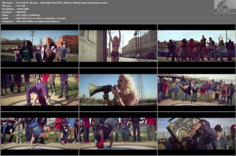 DJ Fresh ft. Rita Ora – Hot Right Now [2011, HD 1080p] Music Video