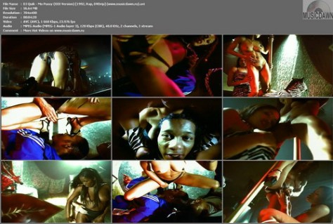 DJ Quik - Mo Pussy (XXX Version) {1992, Rap, DVDrip}