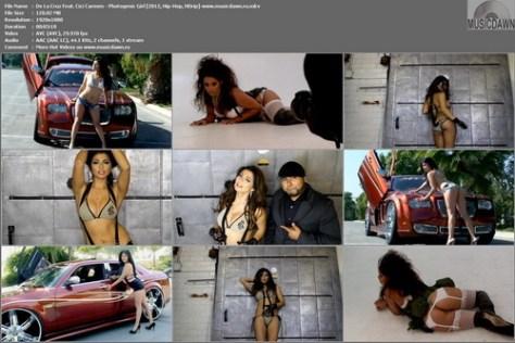 De La Cruz Feat. Cici Carmen - Photogenic Girl (2012, Hip-Hop, HD 1080p)