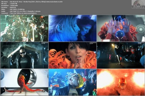 Die Atzen ft. Nena – Strobo Pop [2011, HDrip] Music Video (Re:Up)