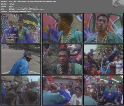 Eric B. & Rakim – I Ain't No Joke [1987, Old School Rap, DVD-VOB] Music Video (Re:Up)