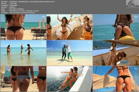 Gabriel Davi – Beautiful [2011, HD 1080p] Music Video