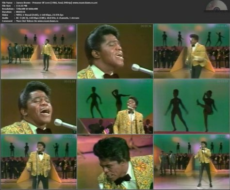 James Brown – Prisoner Of Love [1966, DVDrip] Music Video (Re:Up)