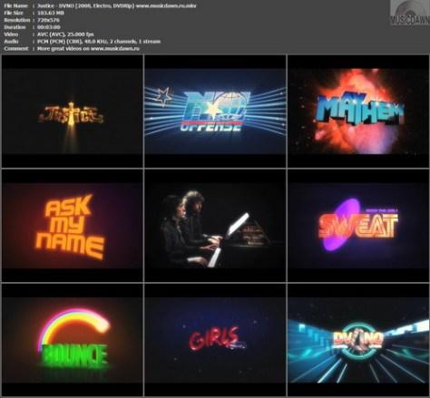 Justice - DVNO (2008, Electro, DVDRip)