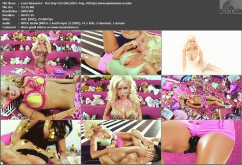 Lene Alexandra - Hot Boy Hot Girl (2007, Pop, DVDrip)