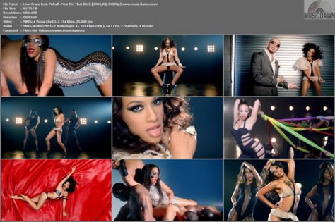 Livvi Franc feat. Pitbull – Now I'm That Bitch [2009, DVDRip] Music Video (Re:Up)