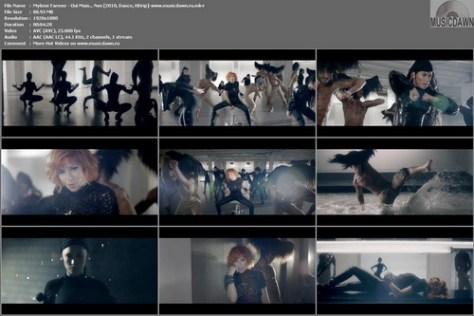 Mylene Farmer - Oui Mais... Non (2010, Dance, HDrip)