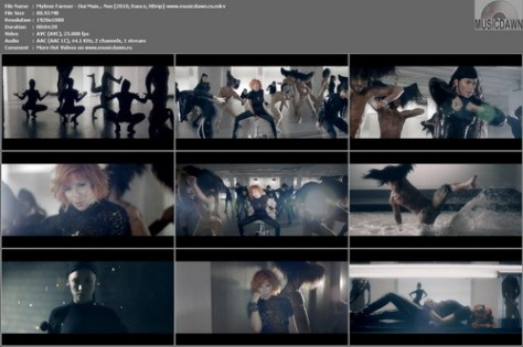 Mylene Farmer – Oui Mais… Non [2010, HD 1080p] Music Video (Re:Up)
