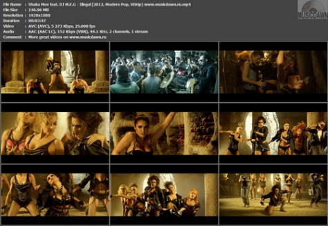 Shaka Muv feat. DJ M.E.G – Illegal [2012, HD 1080p] Music Video