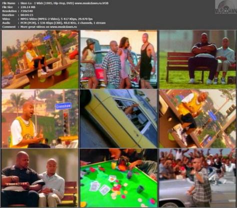 Skee-Lo - I Wish (1995, Hip-Hop, DVD-VOB)