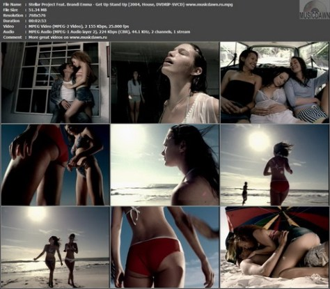 Stellar Project Feat. Brandi Emma – Get Up Stand Up [2004, DVDRiP] Music Video
