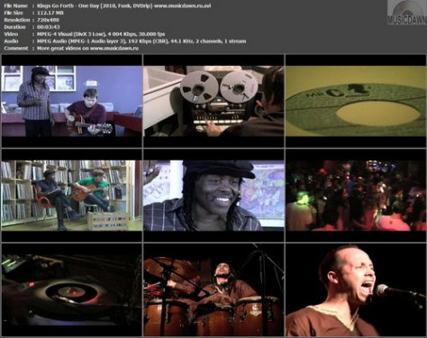 Kings Go Forth - One Day (2010, Funk, DVDrip)