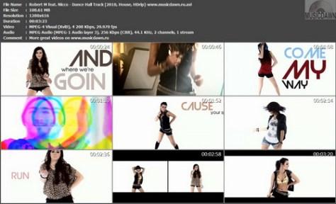 Robert M feat. Nicco - Dance Hall Track (2010, House, HDrip)