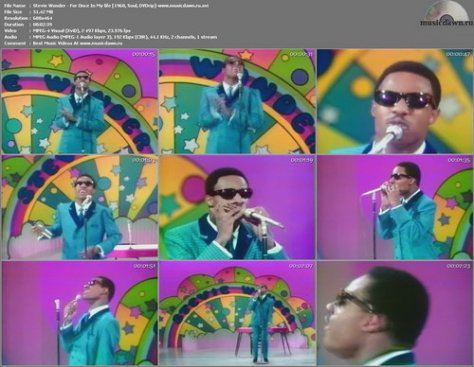 Stevie Wonder – For Once In My Life [1968, DVDrip] Music Video (Re:Up)