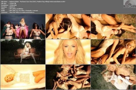 Andreea Balan – Ma Doare Fara Tine [2012, HD 1080p] Music Video