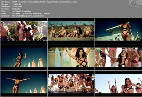 INNA – More Than Friends [2013, HD 1080p] Music Video