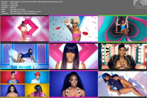 Kelly Rowland – Kisses Down Low [2013, HD 1080p] Music Video