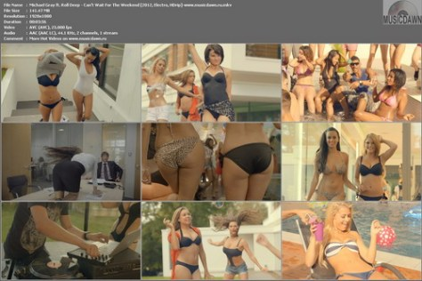 Michael Gray ft. Roll Deep - Can't Wait For The Weekend (2012, Electro, HD 1080p)