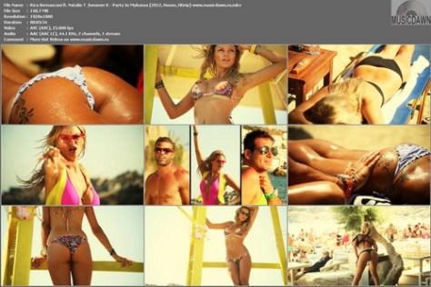 Rico Bernasconi ft. Natalie T & Sommer K - Party In Mykonos (2012, House, HD 1080p)
