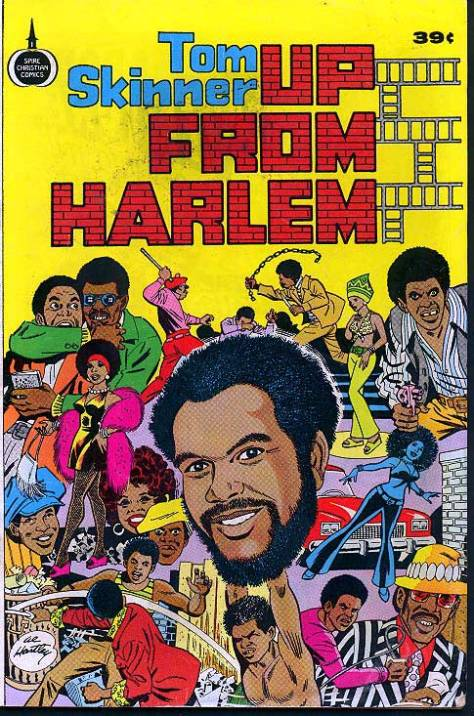 Tom Skinner - Up From Harlem (Blaxploitation Style Comics) 1975