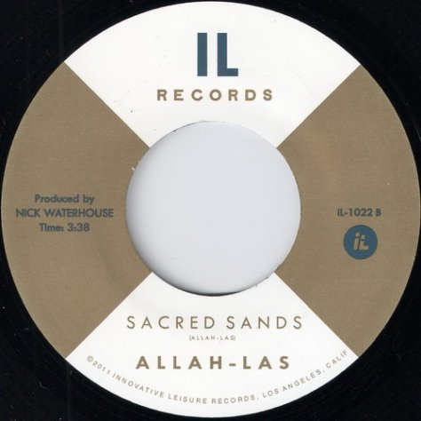 Allah-Las - Sacred Sands (Innovative Leisure Records # IL-1022)