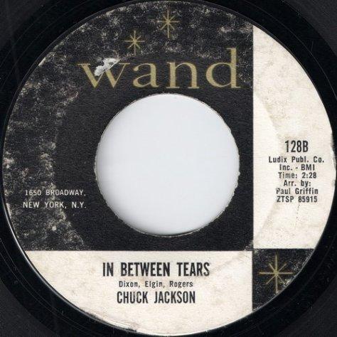Chuck Jackson - In Between Tears (Wand, 128 black text)