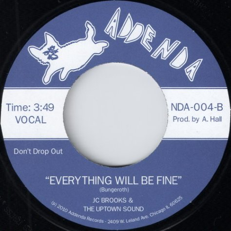 JC Brooks & The Uptown Sound - Everything Will Be Fine