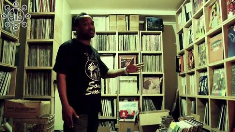 DJ Spinna's Studio Tour [Documentary] '2009 [4 Vinyl Diggers]