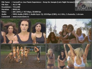 Corenell vs. Lisa Marie Experience – Keep On Jumpin (Late Night Version) [2007, DVDrip] Music Video
