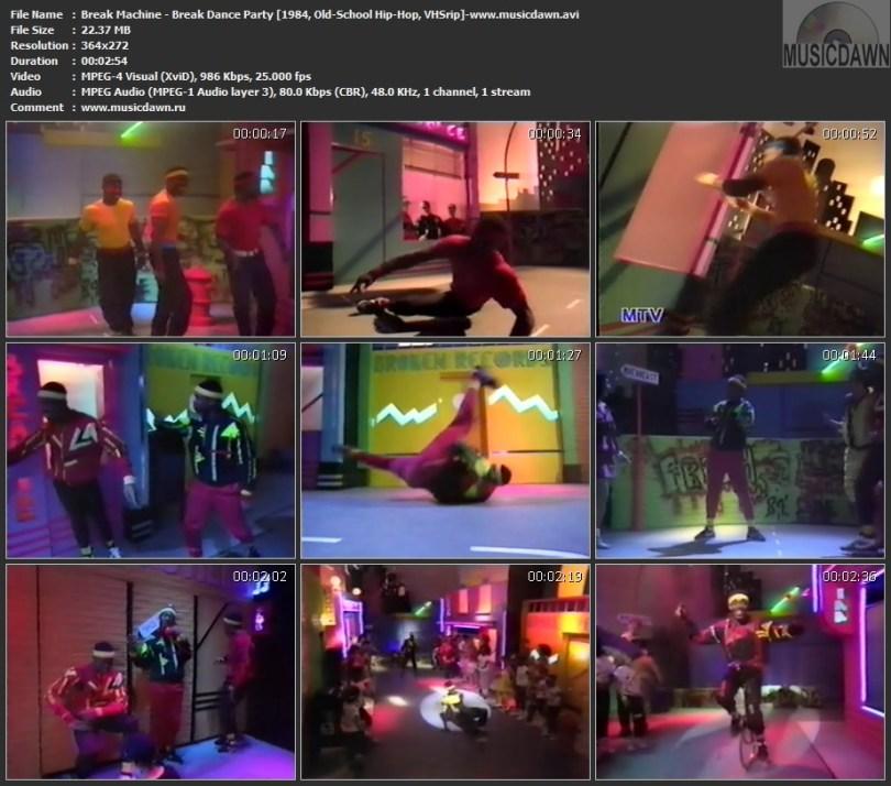 Break Machine - Break Dance Party (1984, Old-School Hip-Hop, VHSrip)