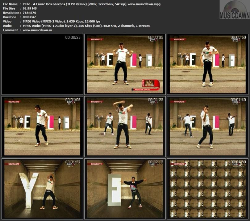 Yelle - A Cause Des Garcons (TEPR Remix) (2007, Tecktonik, SATrip)