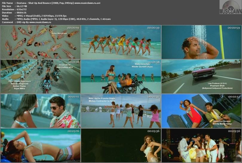 Dostana - Shut Up And Bounce (2008, Indian Pop Dance, DVDrip