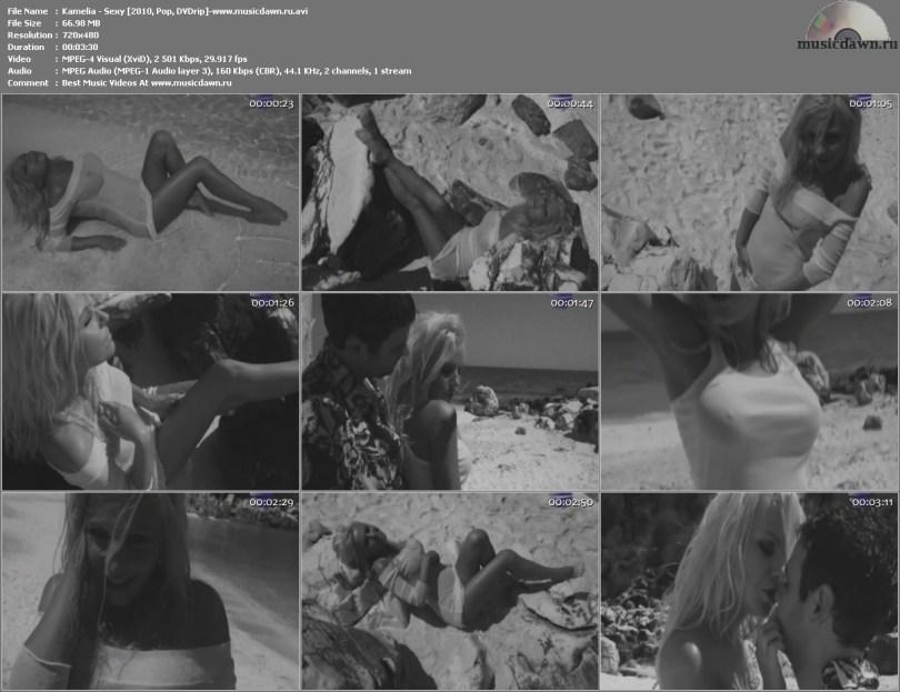 Kamelia - Sexy / Камелия - Sexy (2010, Pop, DVDrip)