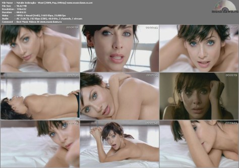 Natalie Imbruglia – Want [2009, DVDrip] Music Video