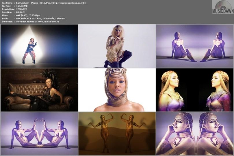 Kat Graham - Power [2013, Pop, HD 720p]