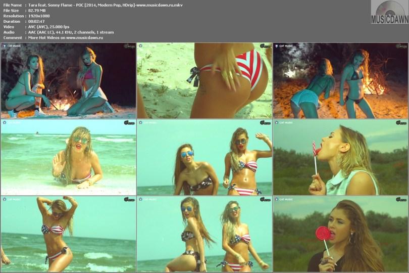 клип Tara feat. Sonny Flame - POC [2014, HD 1080p]