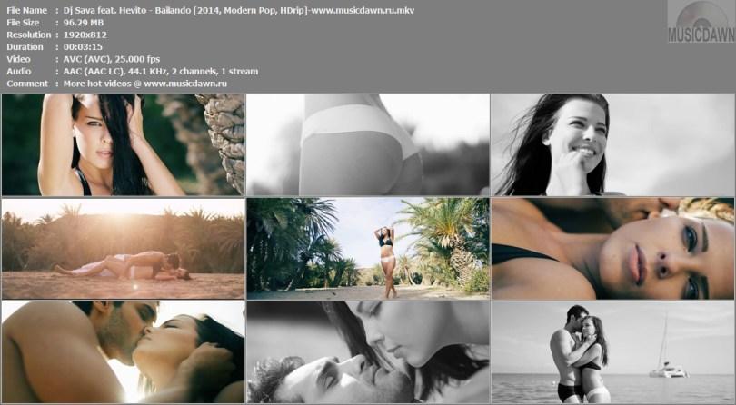 Клип Dj Sava feat. Hevito - Bailando [2014, HD 1080p]