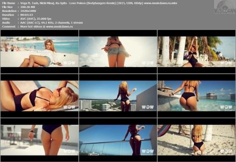 Клип Vega ft. Nicki Minaj, Tash & Ru Spits - Love Poison (Bodybangers Remix) [2015, HD 1080p]
