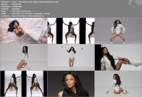 Ciara – I Bet [2015, HD 1080p] Music Video